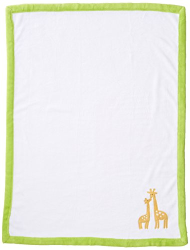 (Carter's Animals Collection Appliqued Coral Fleece Blanket)