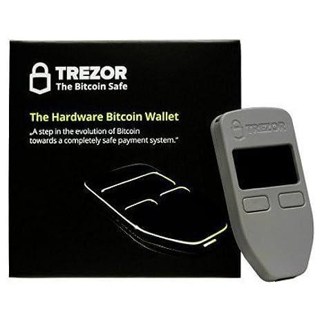 TREZOR SL-TRZ - Cartera hardware Bitcoin, color Blanco