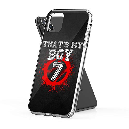 Case Phone Thats My Boy Baseball Number (6.1-inch Diagonal Compatible with iPhone 11)