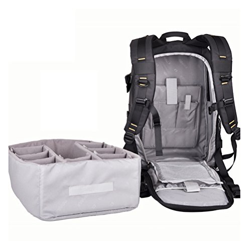 Amazon.com : LEDMOMO DSLR Camera and Mirrorless Backpack Bag Outdoor Nylon Waterproof with Laptop and Notebook : Camera & Photo
