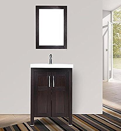 Elecwish Elecwish Modern Bathroom Vanity Suite Stand Pedestal - 24 contemporary bathroom vanity