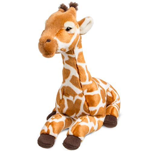 FAO Schwarz Giraffe Calf Toy Plush 12 Inches, Ultra Soft and Snuggly Doll for Educational, Creative, and Imagination Play, for Boys, Girls, & Children Ages 3 and Up, Nature Theme Playroom & Nursery