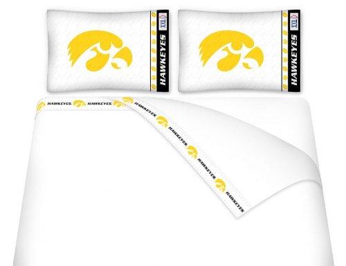 NCAA Iowa Hawkeyes Micro Fiber Sheet Set ()