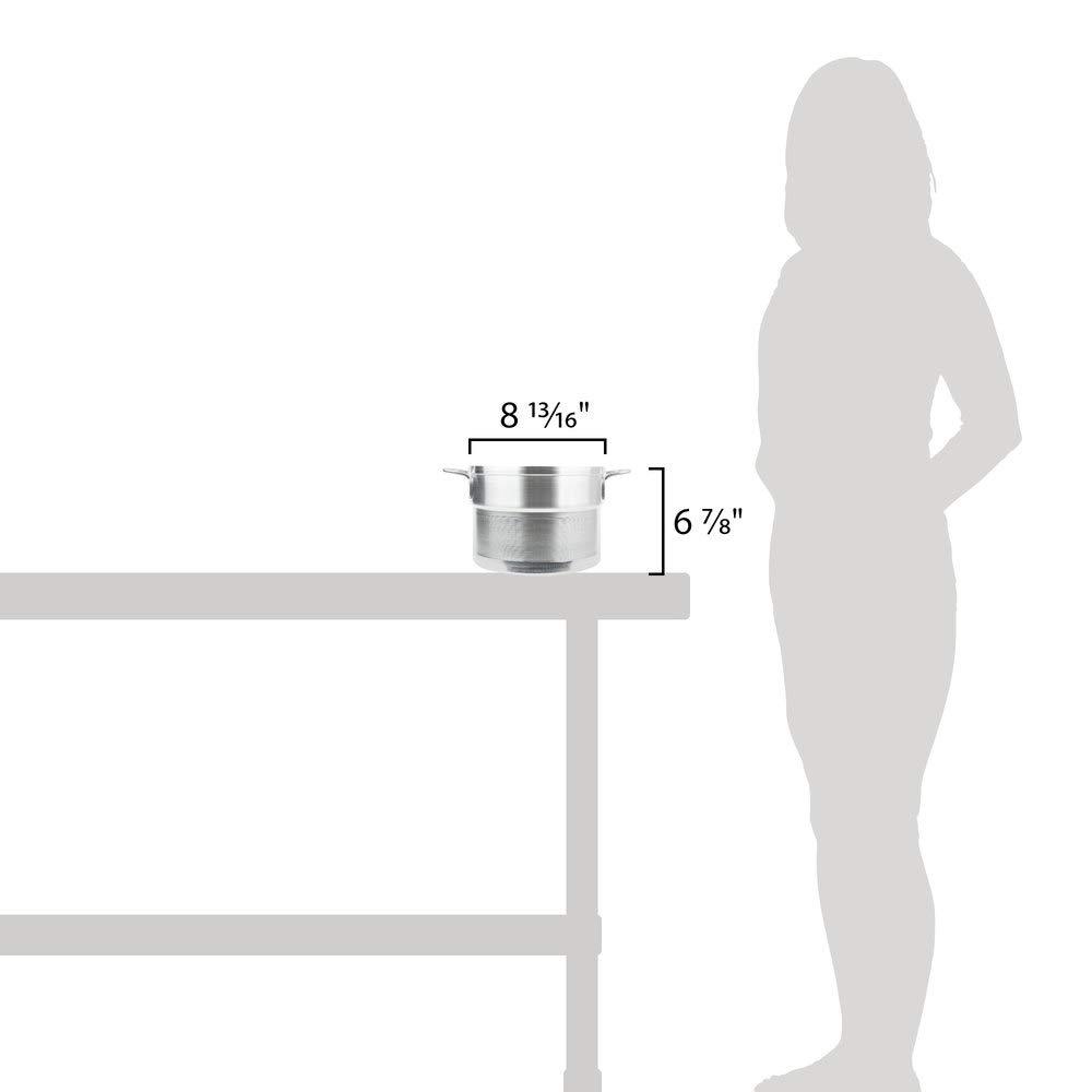Vollrath 43047-2 Wear-Ever 8.5 Qt. Aluminum Inset for 67708 Double Boiler