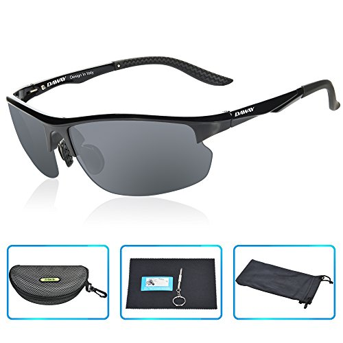 6118c00c77 DAWAY SG15 Lightweight Mens Polarized Sports Sunglasses Fishing Golf  Driving Cycling