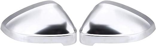 ABS Matt 2pcs Auto Sostituire Specchietti Calotte Interni Accessori Protezione Retrovisore Custodia Guscio Laterale Trim Decorativo Per Audi A4 B9 A5 2017-2019 Wing Mirror Covers Indicatore Len
