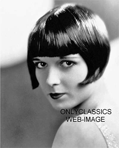 OnlyClassics 1928 Sexy Cute Actress Louise Brooks LULU 8X10 Photo BOB Haircut Art Deco Style
