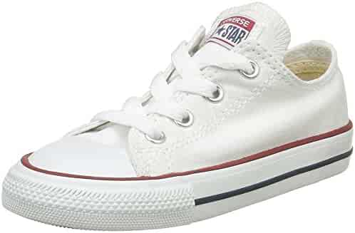 Converse Kids Youth Chuck Taylor All Star Optical White Basketball Shoe 3 Kids US