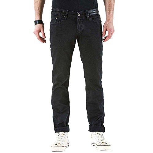 Vita Maner Nero Modello Jeans Slim Media Per Meltin'pot G2380 Uomo ak000 Vestibilità BfOzFqw