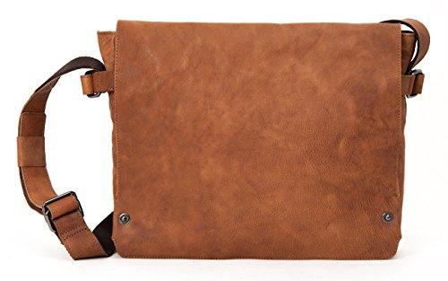 HAROLD'S Pull Up bolso bandolera piel 36 cm Camel