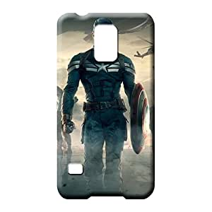 samsung galaxy s5 Eco Package Retail Packaging Scratch-proof Protection Cases Covers mobile phone covers captain america the winter soldier movie