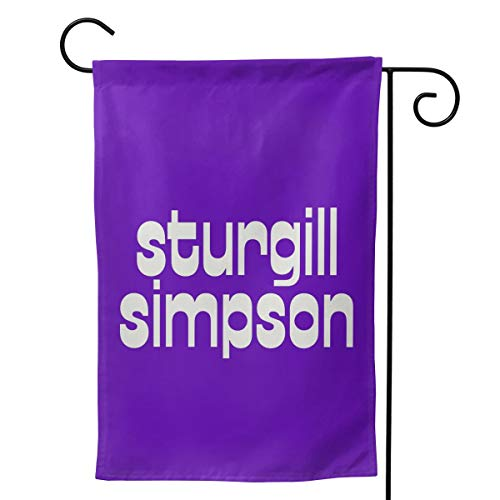 LIKUNMIN Sturgill Simpson Logo Seasonal Garden Flags 27