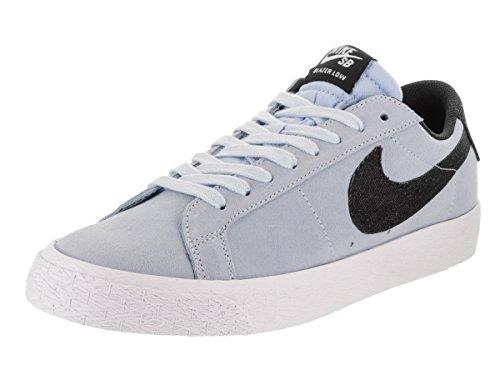 Nike Men's SB Blazer Zoom Low Hydrogen Blue/Black White Skate Shoe 10.5 Men US