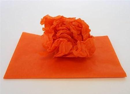 Orange Tissue Paper 48 Sheets Roll Amazon Kitchen Home