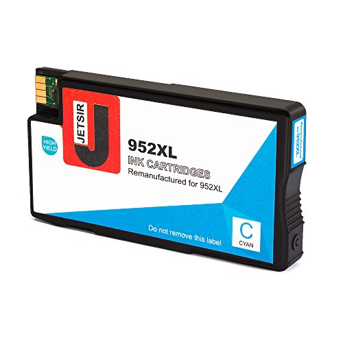JetSir Remanufactured for 952xl 952 Ink Cartridge High Yield (Black/Cyan/Magenta/Yellow), Compatible with OfficeJet Pro 8720 8710 7740 8740 8210 8216 8730 8715 8725 8702 Printer Photo #2