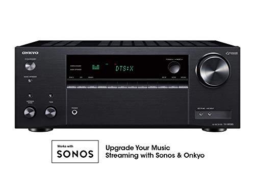 Onkyo TX-NR585 7.2 Channel Network A/V Receiver Black (Renewed) (Onkyo Receivers Refurbished)