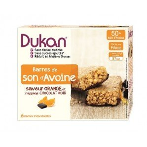 Dukan Diet chocolat Orange Oat Bran Bar