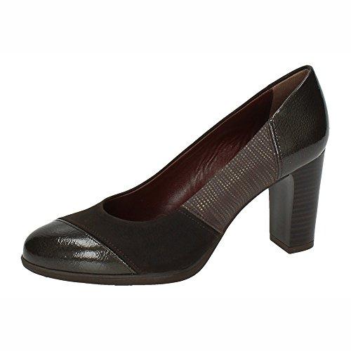 77 Mujer Modabella Marrón Piel Zapatos 1158 De Tacón Xrd8wxdq0