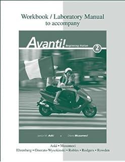 Amazoncom Avanti Audio Program Italian Edition 9780077270490