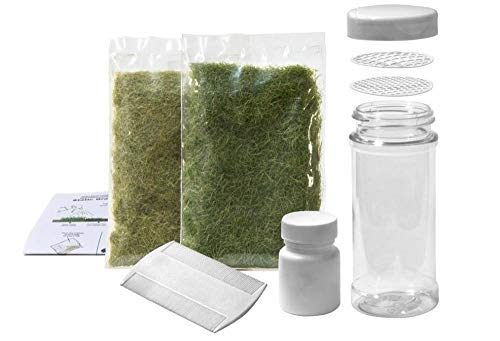 - Woodland Scenics FS647 Static Grass Starter Kit