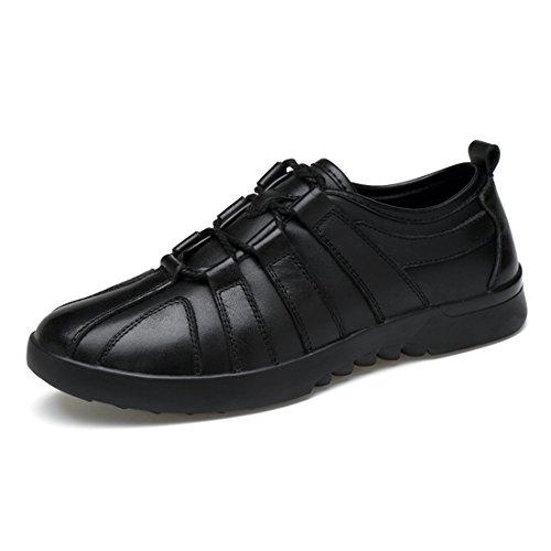 Lacets de Minitoo pour à LH6603 39 Ville Noir Chaussures Homme LHEU Noir HxSt6xrnwY