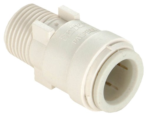 WATTS P-610 Male Adapter, 1/2-inch by 1/2-inch