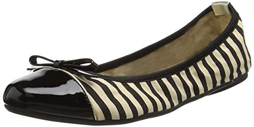 black Donna Ballet Twists Flats 041 Nero Cara Butterfly wUY1qw