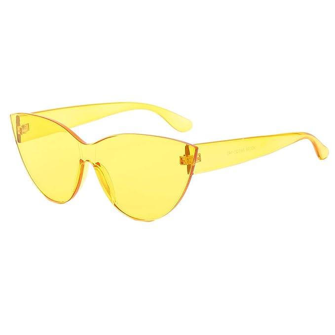 ZARLLE-Gafas Gafas de colores, Moda ojo de gato Gafas de sol ...
