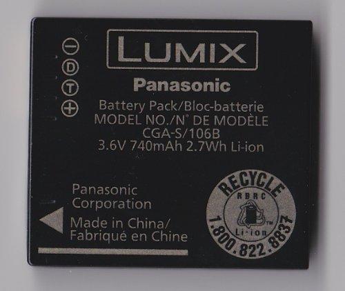 TechFuel Battery Replaces Panasonic CGA-S/106B LI-ion Battery