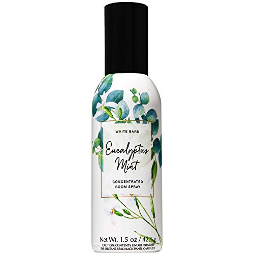 - Bath and Body Works Eucalyptus Mint Concentrated Room Spray 1.5 Ounce (2019 Spring Edition, White Barn Label)