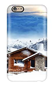 patience robinson's Shop Hot 9420852K24012472 Premium Protective Hard Case For Iphone 6- Nice Design - House On Snow