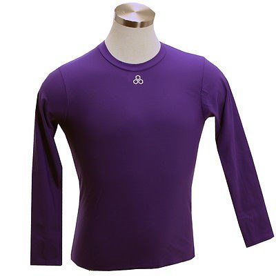 Image Unavailable. Image not available for. Color  McDavid 884T Long Sleeve  Compression Shirt Purple ... 8924e38106c5