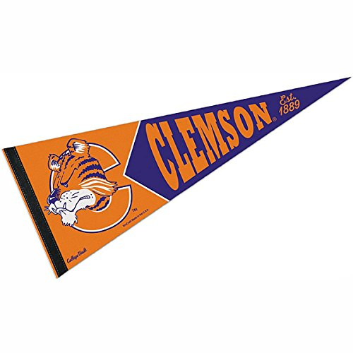Clemson Tigers College Vault and Throwback (Tigers Party Pennant Flags)