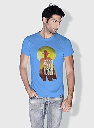 Creo The Good The Bad The Ugly Movie Posters T-Shirts For Men - S, Blue