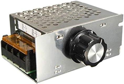 Tivollyff AC 220V 4000W SCRの電圧調整器の調光器の電子モーター速度のコントローラー