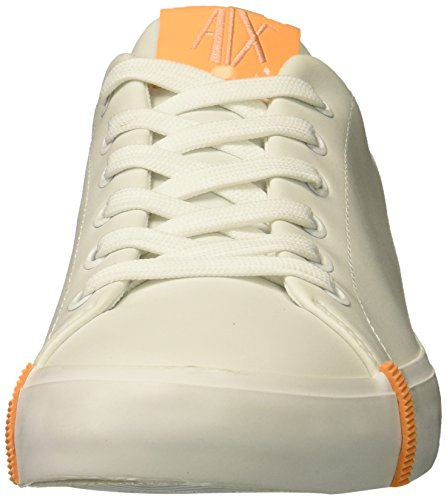 9450098P463 Sneaker Exchange Bianco Womens X A Eco Leather Armani Fashion 8q1FETUI