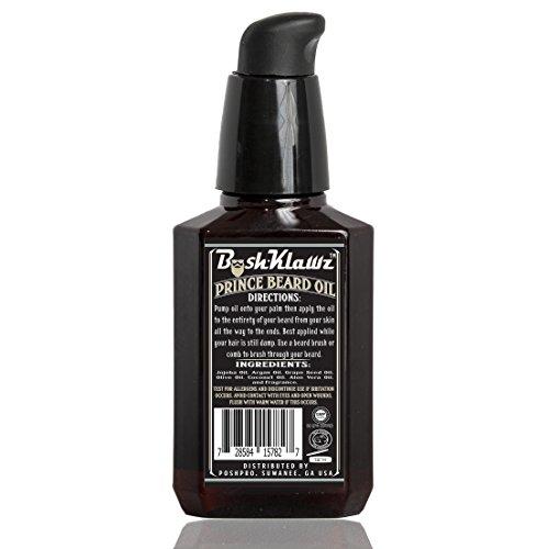 Urban Prince Beard Oil Conditioner Premium Beard Moisturizer Refreshing Scent 2 oz - Best Leave in Conditioner Scented Beard Oil Gift Bearded Men