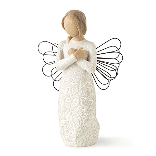 Willow Tree Remembrance Angel, sculpted hand-painted figure ()