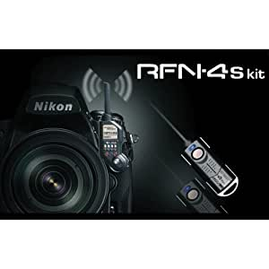 SMDV RFN-4s - Kit de disparador remoto para Nikon D1, D2, D3, D3s, D3x, D4, D800, D700, D300, D300s, D200, F100, F90, F6 y F5 (D100 solo con empuñadura de la batería)