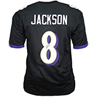 $239 » Lamar Jackson Signed Football Jersey - Baltimore Black Custom - Autographed and JSA Authenticated