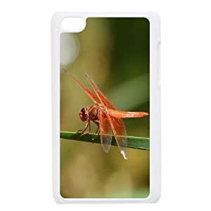 Personalized Unique Design Case for Ipod Touch 4, Dragonfly Cover Case - HL-R669157 hjbrhga1544