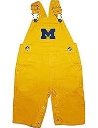 University of Michigan Wolverines Newborn Baby Infant Toddler Overalls