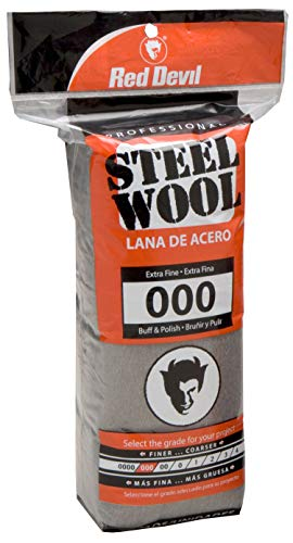 (Red Devil 0311 Steel Wool, 000 Extra Fine, 16 Pads)