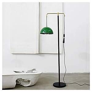 DUOMING Lámpara de pie de Hierro Forjado Salón Luz/Sofá ...