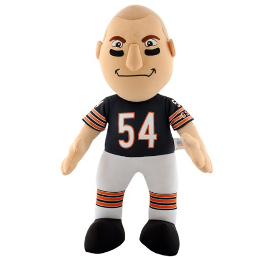 NFL Chicago Bears Brian Urlacher 14-Inch Plush Doll