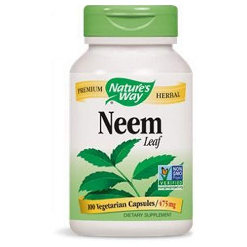 (Natures Way, Neem Leaves, 100 Count)