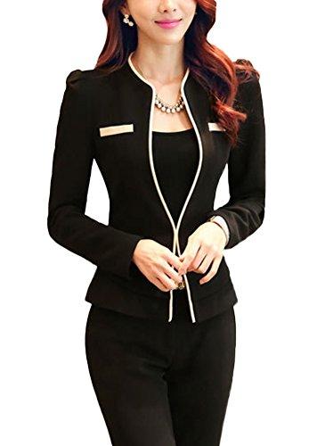 Jacket Skirt Pant Suit - 8