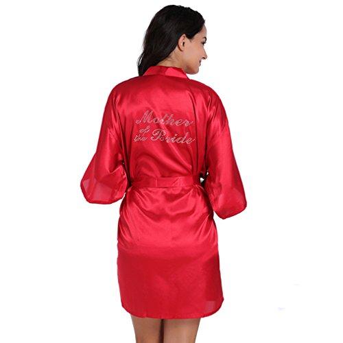 Cristallo Madre Camicie Della e Sposa e Vestaglie Kimono Notte BOYANN Pigiami Bord da tSqAdwzq