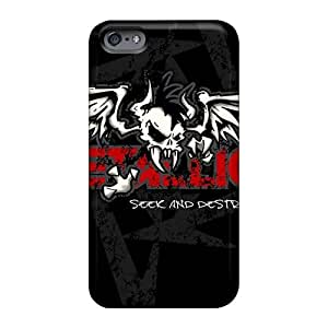Best Hard Cell-phone Cases For Iphone 6plus (SND4258wvtE) Provide Private Custom HD Metallica Band Image