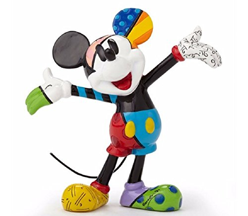 - Enesco Gift Disney by Britto Mickey Mouse Mini Collectible Figurine